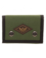 Legend of Zelda Tri-Fold Snap Wallet