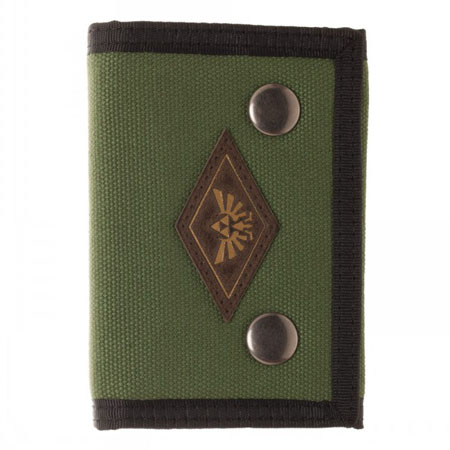Legend of Zelda Tri-Fold Snap Wallet Front