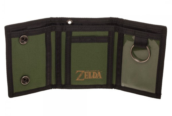 Legend of Zelda Tri-Fold Snap Wallet Interior
