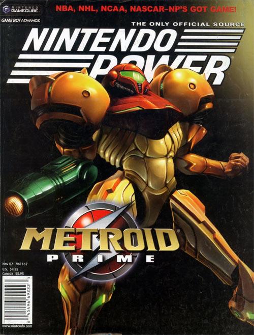 Nintendo Power Volume 162 Metroid Prime