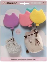 Pusheen and Stormy Balloon Clings