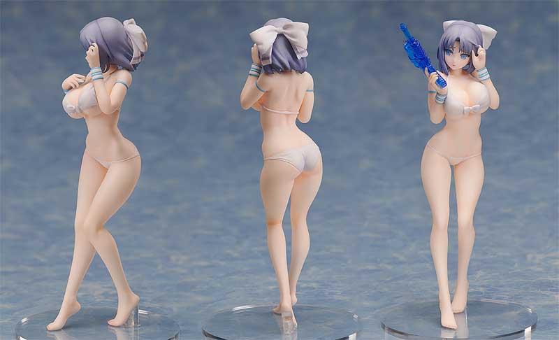Senran Kagura Peach Beach Splash Yumi Swimsuit PVC Fig additional angles