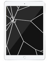 iPad 7 Repairs: Glass Screen Replacement Service White
