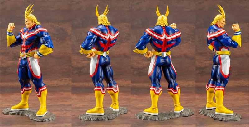 My Hero Academia All Might ArtFX J Statue extra angles