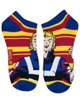 My Hero Academia U.A.'s Big Three Ankle Socks 5 Pack