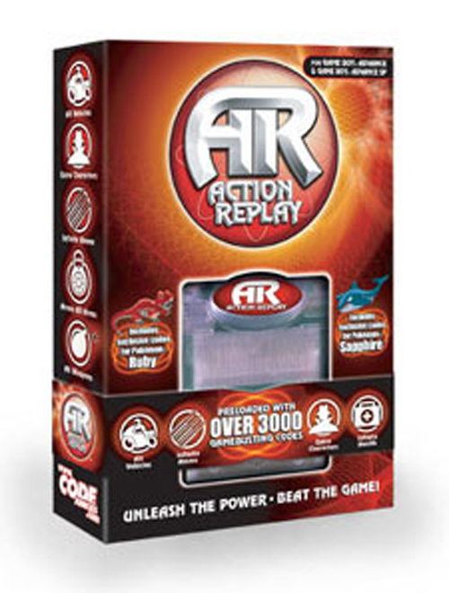 Game Boy Advance Action Replay