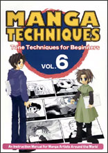Manga Techniques Vol. 06 Tone Techniques for Beginners