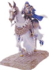 Berserk Griffith Millennium Falcon: Horse Riding Figure