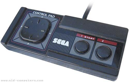 Sega Master Control Pad by SEGA