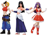 King of Fighters Girls Series 1 Mini Figures (Set of 3)