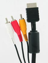 PS3, PS2, PS AV Cable by Sony