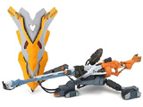 Neon Genesis Evangelion Revoltech Movie Ed. Rifle/Shield Set