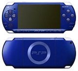 Sony PSP Slim Metallic Blue Version