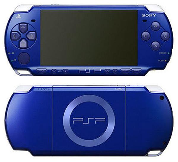 Sony PSP Slim Metallic Blue Version