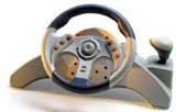 Dreamcast MC2 Racing Wheel w/ Pedals