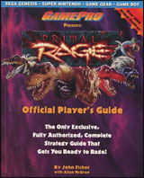 Primal Rage Official Player's Guide