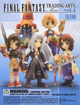 Final Fantasy: Trading Arts Volume 4 Mini Figures (Box of 9)