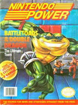Nintendo Power Volume 49 Battletoads & Double Dragon