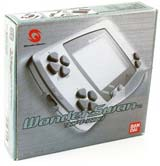 Bandai WonderSwan System Metallic Blue