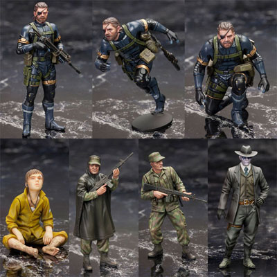 Metal Gear Solid V: Ground Zeroes Set Plastic Model Kit