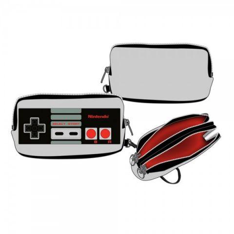 Nintendo Controller Double Zip Wallet