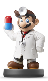 amiibo Dr. Mario Super Smash Bros.