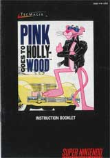 Pink Goes To Hollywood (Instruction Manual)