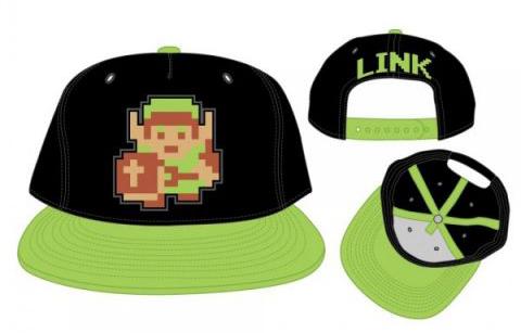 Legend of Zelda Link 8-Bit Snapback Cap
