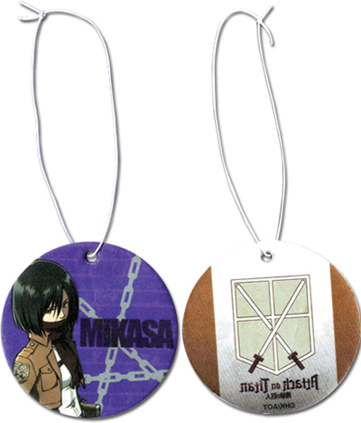 Attack On Titan Mikasa Air Freshner