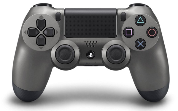 Playstation 4 DualShock 4 Wireless Controller Steel Black Sony