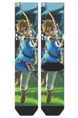 Legend of Zelda Breath of the Wild Jrs. Sublimated Crew Socks