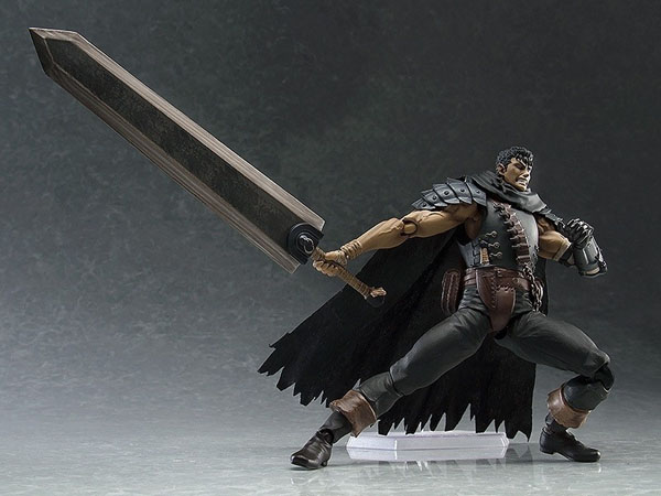 Berserk Guts the Black Swordsman Figma Action Figure