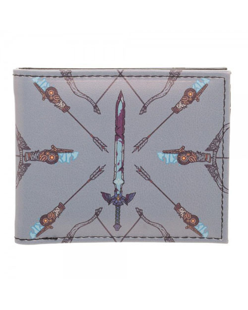 Legend of Zelda Breath of the Wild Sword/Arrow Bi-Fold Wallet