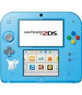Nintendo 2DS Pokemon Sun Moon Light Blue Edition