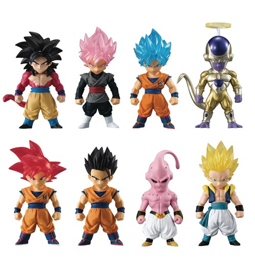 Dragon Ball Adverge SP Mini Figures
