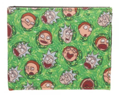 Rick & Morty All Over Print Sublimated Bi-Fold Wallet