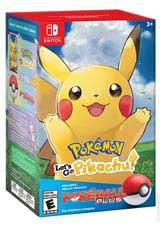 Pokemon: Let's Go Pikachu! & Poke Ball Plus Pack