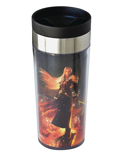 Final Fantasy VII Remake Sephiroth Metallic Art Tumbler