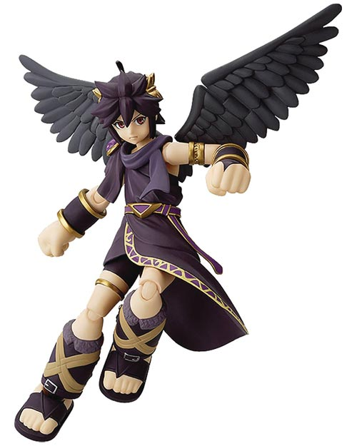 Kid Icarus Uprising Dark Pit Figma Action Figure