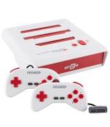 Super Retro Trio Plus NES/SNES/Genesis 3-in-1 Console White/Red