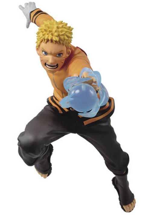 Boruto Naruto Vibration Stars Naruto Uzumaki Figure Yelling Version