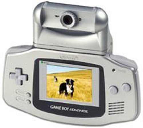 Game Boy Advance Worm Cam by Nyko