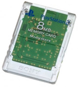 PS2 Memory Card Crystal by Sony