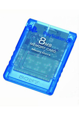 PS2 Memory Card Blue by Sony