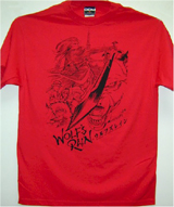 Wolf's Rain Black Sword T-Shirt LG