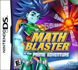 Math Blaster in the Prime Adventure