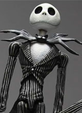 Kingdom Hearts Play Arts Jack Skellington Action Figure