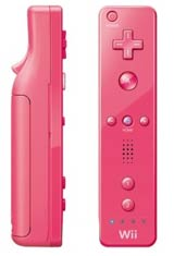 Nintendo Wii Pink Remote by Nintendo