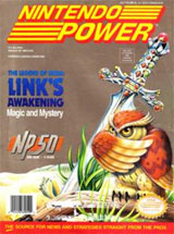 Nintendo Power Volume 50 Zelda Link's Awakening