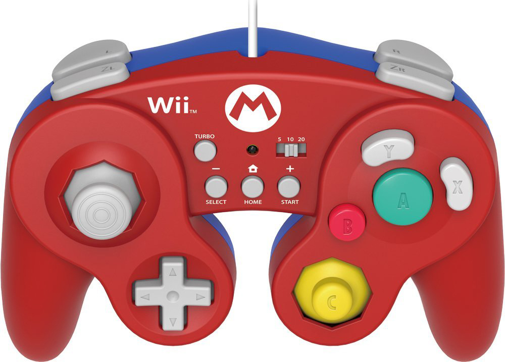 Wii U HORI Battle Pad Mario Version